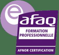 Certifié e-AFAQ Formation professionnelle